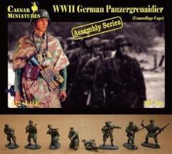Panzergrenadier w/Camouflage Cape