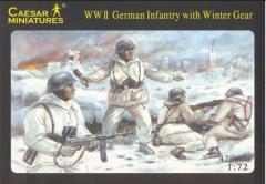 WWII German Infantry w/Winter Gear