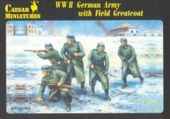 WWII German Army w/Field Greatcoat