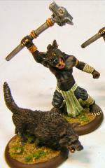 Amon w/Wolf
