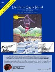 Death on Signal Island (2nd Printing)