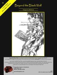 Beyond the Black Wall (2nd Printing)