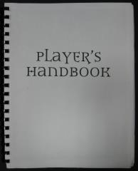 Player's Handbook 3.0 (Pre-Publication Edition)