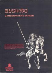 Bushido - Gamemaster's Screen