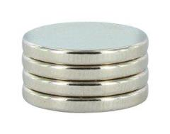 "1/2"" X 1/16"" Disc Magnets (4)"