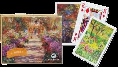 Playing Cards - C. Monet, Giverny
