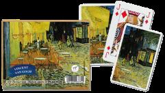Playing Cards - Cafe at Night