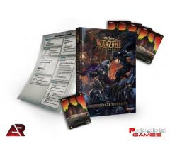 Warzone 2.0 Corporate Warbook w/Resource Cards
