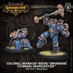 "Colonel Markus ""Siege"" Brisbane"
