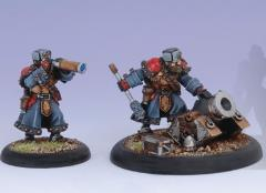 Winter Guard Mortar Crew