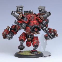 Behemoth Heavy Warjack (2nd Printing, Metal Sculpt w/Resin Pieces)