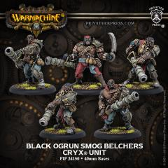 Black Ogrun Smog Belchers Unit