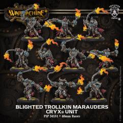 Blighted Trollkin Marauders Unit