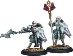 Houseguard Rifleman Officer & Standard - Unit Attachment