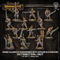 House Ellowuyr Swordsmen w/Officer and Standard