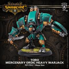 Toro/Suppressor/Vindicator Heavy Warjack