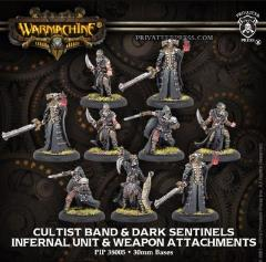 Cultist Band & Dark Sentinels & Weapon Attachments