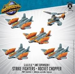 G.U.A.R.D. Strike Fighters & Rocket Chopper Unit