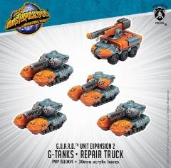 G.U.A.R.D. G-Tanks & Repair Truck Unit