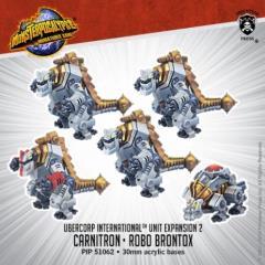 Carnitrons and Robo Brontox