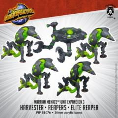 Martian Menace Reapers & Harvester Units