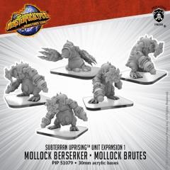 Mollock Brutes and Mollock Berserker Subterran Unit