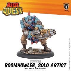 Boomhowler- Solo Artist Gunner