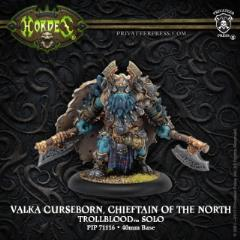 Valka Curseborn, Chieftain of the North