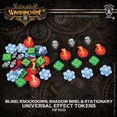 Universal Effect Tokens - Blind, Knockdown, Shadow Bind, Stationary