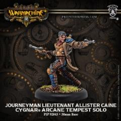 Journeyman Lieutenant Allister Caine