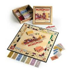 Monopoly (Nostalgia Games Series, 2001 Edition)
