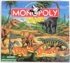 Monopoly Junior - Dig 'n Dinos