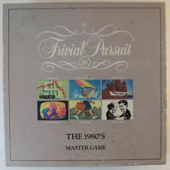 Trivial Pursuit Master Game - The 1980's