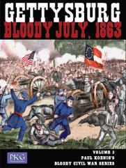 Paul Koenig's Bloody Civil War Series #3 - Gettysburg, Bloody July, 1863 (1st Edition)