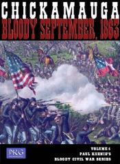 Paul Koenig's Bloody Civil War Series #4 - Chickamauga, Bloody September 1863 (1st Edition)