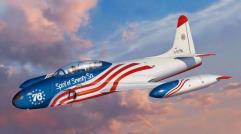 "USAF T-33 U.S. Bicentennial 1976 ""Spirit of Seventy-Six"""