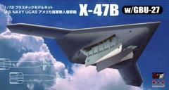 U.S. Navy X-47B w/GBU-27 (Guided Bomb Unit - Air-to-Surface Glide Bomb) (1:72)