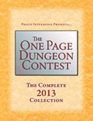 One Page Dungeon Contest, The - The Complete 2013 Collection
