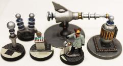 Dr. Prometheus w/Death Ray & Laboratory #1