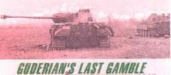 Guderian's Last Gamble - Operation Solstice, 1945