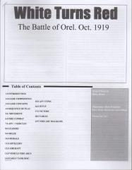 White Turns Red - The Battle of Orel, October 1919