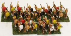 Greek Hoplites - Advancing Collection #1