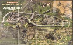 Pool of Radiance - Ruins of Myth Drannor - Overland Map