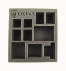 "2 1/2"" Cygnar - Battlegroup Starter Box, Half Foam Tray"