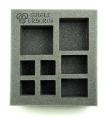 "2 1/2"" Circle Orboros - Starter Demo Half-Foam Tray"