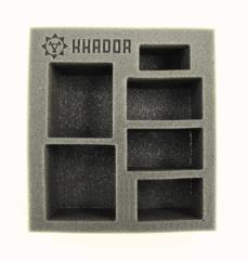 "2 1/2"" Khador - Battlegroup Starter Box,  Half Foam Tray"