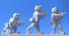US Marine M203 Grenadiers Firing