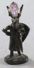 Knight in Winged Helmet w/Crystal #1