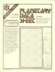 Planetary Data Sheet