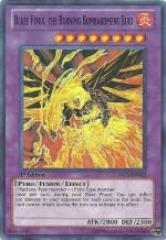 Blaze Fenix - the Burning Bombardment Bird (Super Rare)